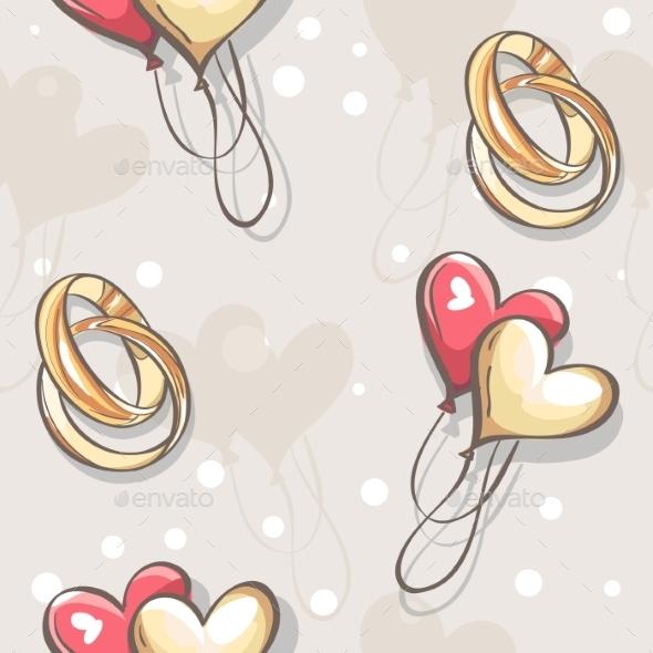 GraphicRiver Wedding Pattern 9683186