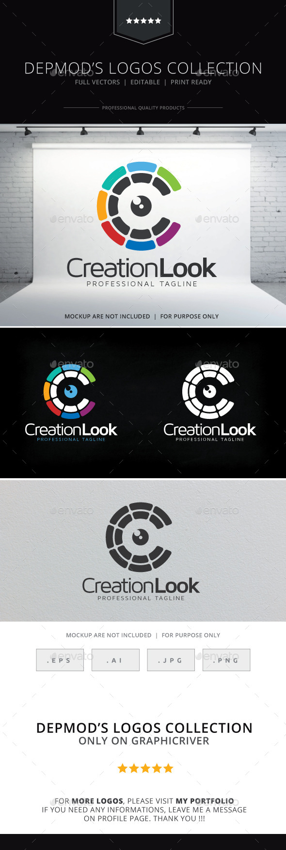 GraphicRiver Creation Look Logo 9683207