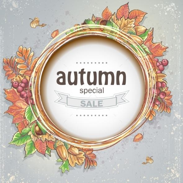GraphicRiver Autumn Frame 9683215