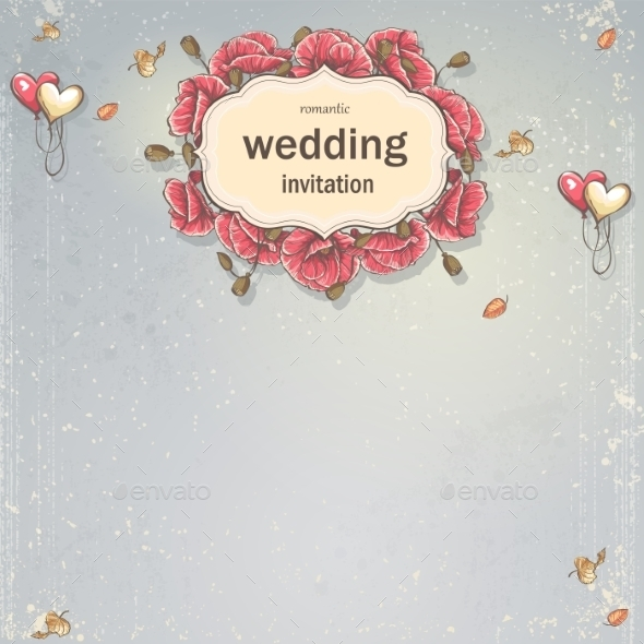 GraphicRiver Wedding Card 9683229