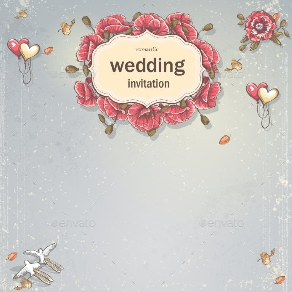 GraphicRiver Wedding Card 9683247