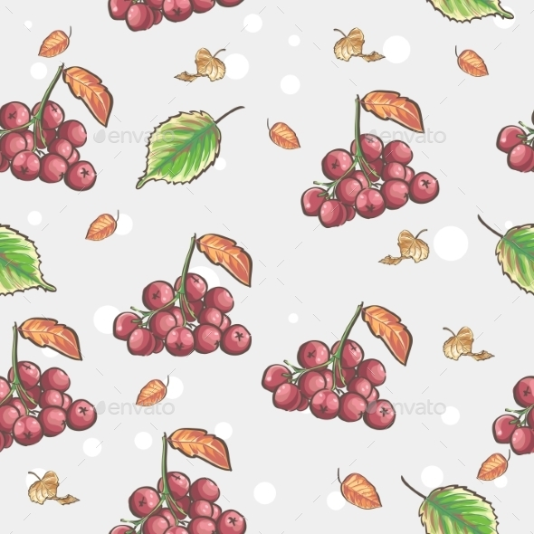 GraphicRiver Berries Pattern 9683283