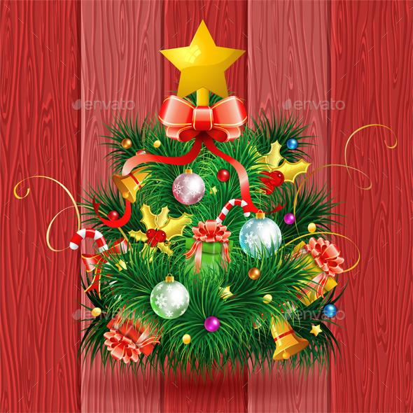 GraphicRiver Christmas Tree 9683284