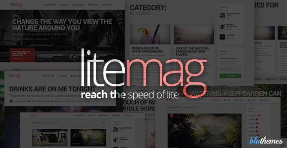 LiteMag - Easy to use Minimalist Magazine Theme