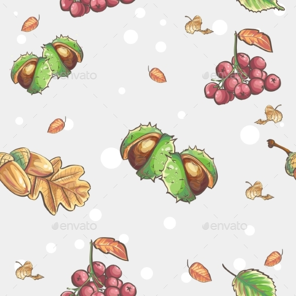 GraphicRiver Autumn Pattern 9683289