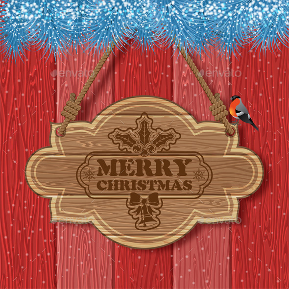 GraphicRiver Christmas Background 9683293