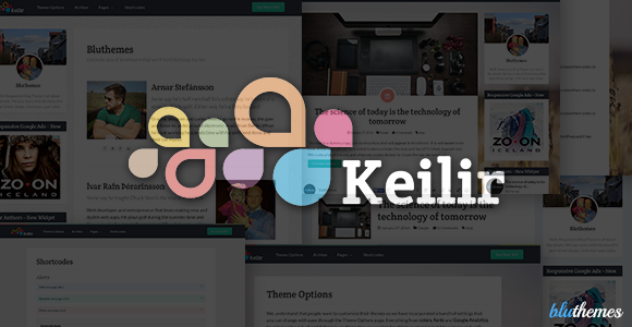 Keilir | Personal Wordpress Blog Theme