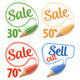 Collect Sale Signs - GraphicRiver Item for Sale