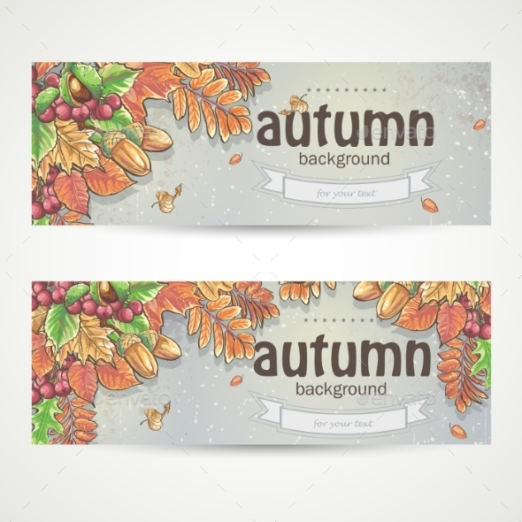 GraphicRiver Autumn Banner 9683306