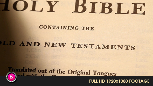 Old Holy Bible 322