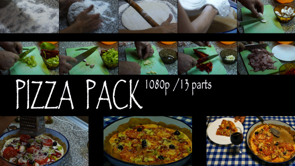 VideoHive Pizza Pack 9683368