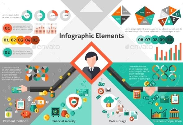 Finance Infographic Set