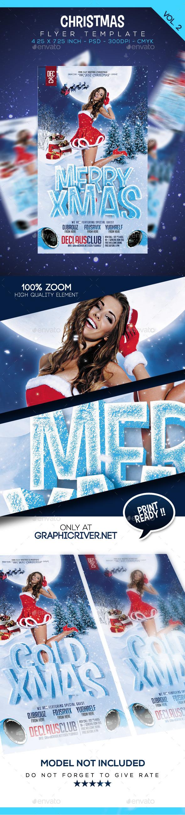 GraphicRiver Christmas Flyer Vol 2 9683665