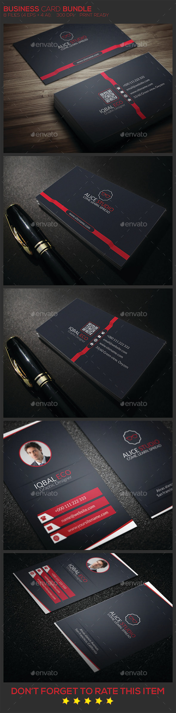 GraphicRiver Business Card Bundle 9683857