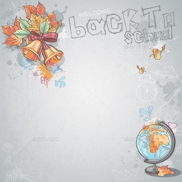 GraphicRiver Autumn Background 9684062