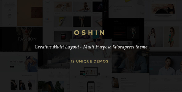 ThemeForest Oshin Multi-Layout Multi-Purpose WordPress Theme 9545812