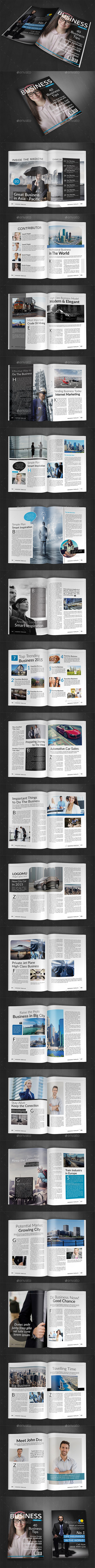 GraphicRiver A4 Magazine Template Vol.9 9684320