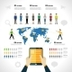 Social Network Infographics - GraphicRiver Item for Sale