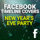 Facebook Timeline Cover - New Year's Eve Party - GraphicRiver Item for Sale