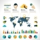 Contact Us Infographics Set - GraphicRiver Item for Sale