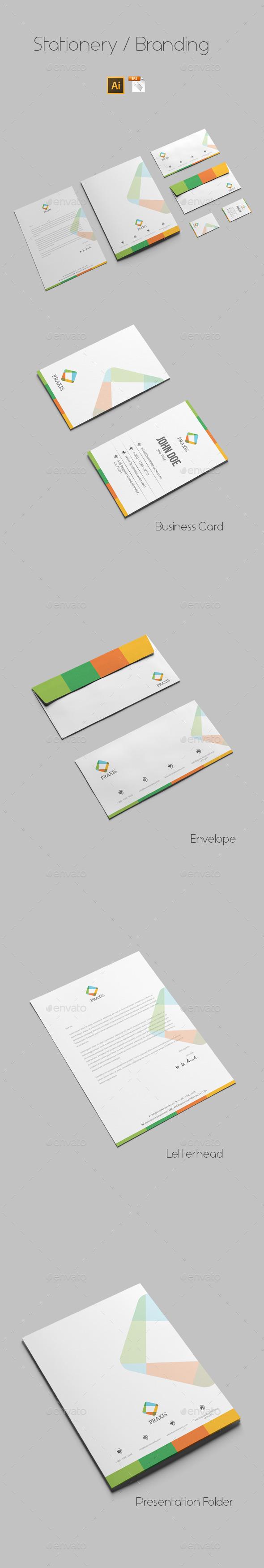 GraphicRiver Branding Stationery 9684465