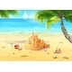 Beach Illustration - GraphicRiver Item for Sale