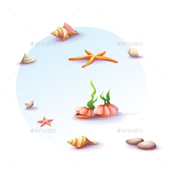 GraphicRiver Beach Background 9684543