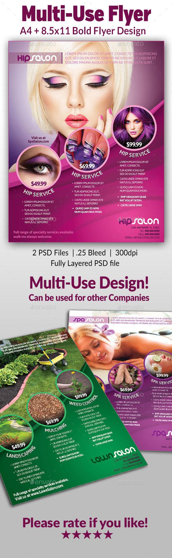 GraphicRiver Multi-use Flyer 9684545