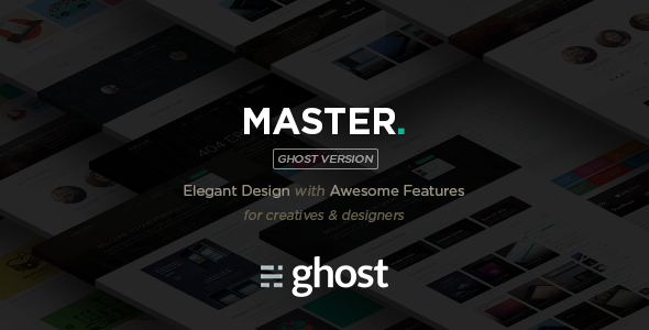 ThemeForest Master Corporate Multipurpose Ghost Blog 9684733