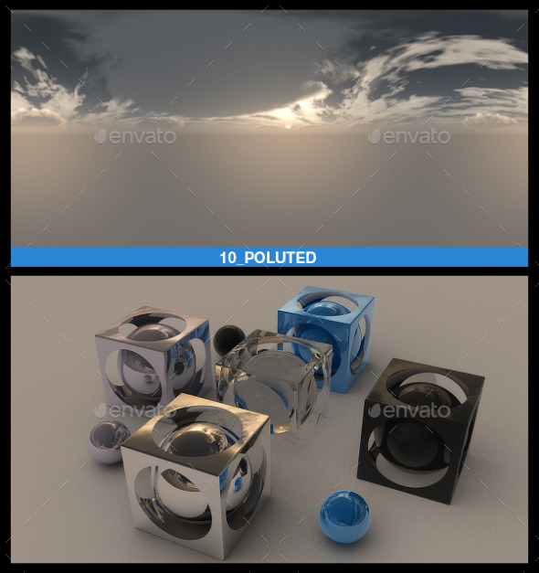 HDRI Sky Pack 2 - 3DOcean Item for Sale