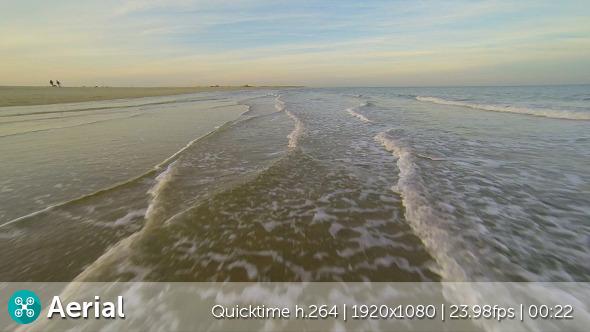VideoHive Beach Waves Aerial 9685168