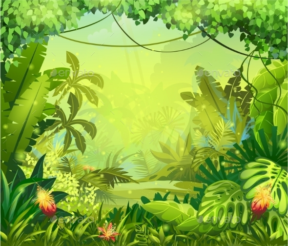 Jungle graphics designs templates from graphicriver toneelgroepblik