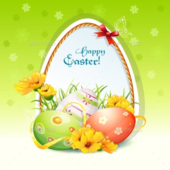 GraphicRiver Illustration for Easter Day 9685844