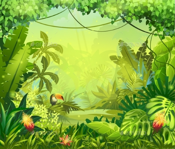 GraphicRiver Jungle 9685877