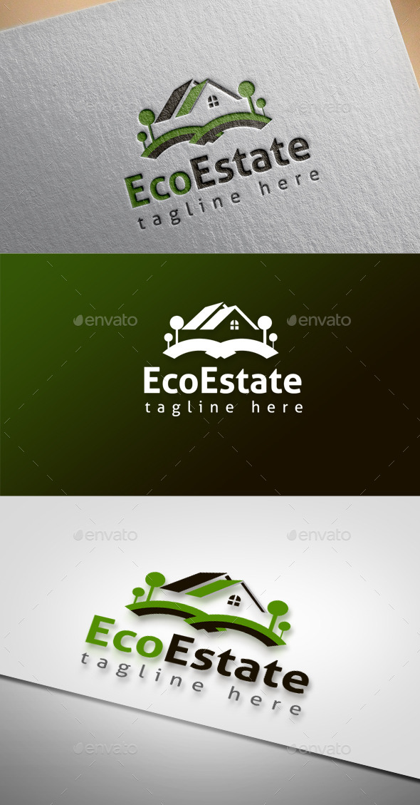 GraphicRiver Eco Estate 9685896
