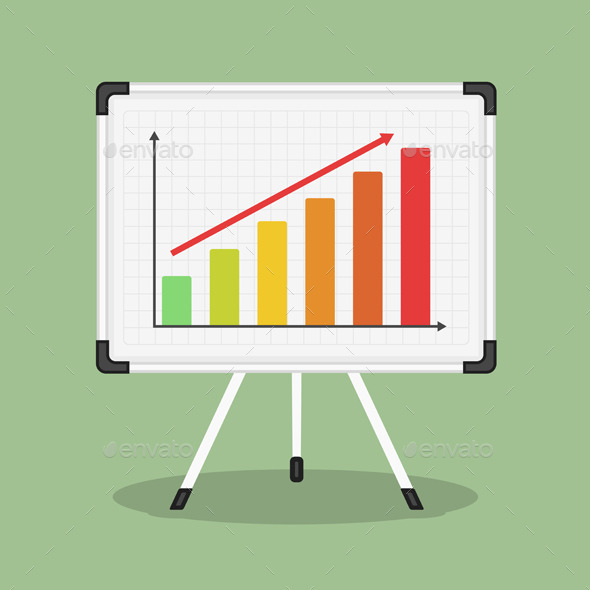 GraphicRiver Whiteboard with Graph 9686090