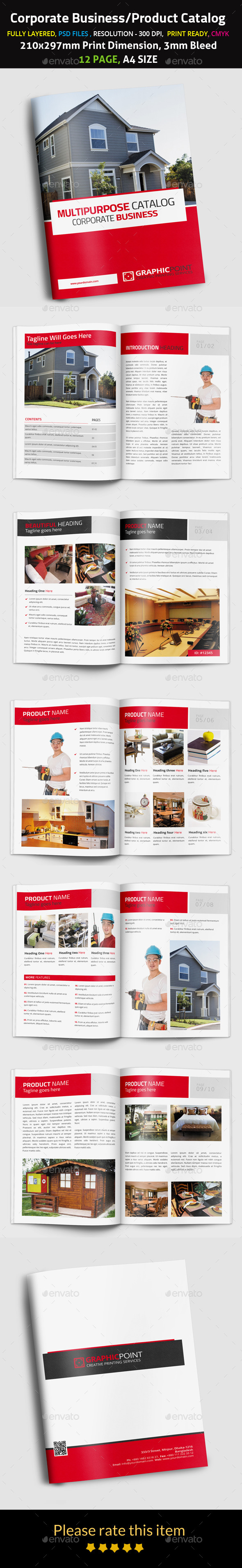 Corporate Business Product Catalog