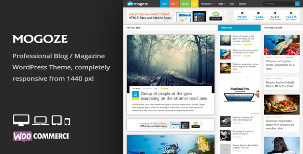 Mogoze - Responsive Magazine WordPress Theme - News / Editorial Blog / Magazine