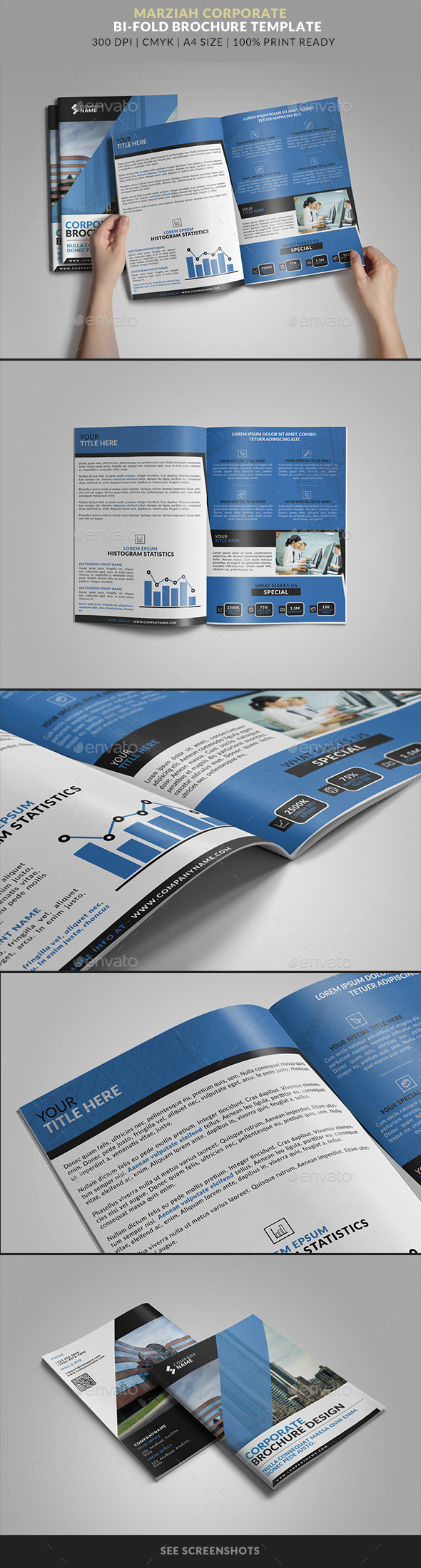 GraphicRiver Marziah Multipurpose Bifold Brochure 9686575