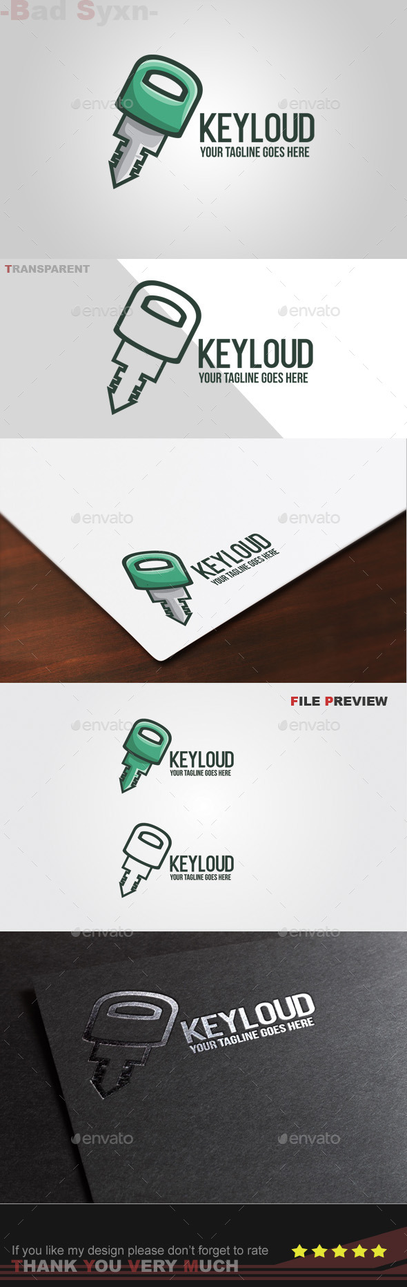 GraphicRiver Keyloud Logo Template 9686621