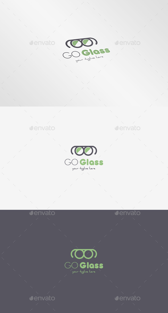 GraphicRiver Glass Logo 9686637