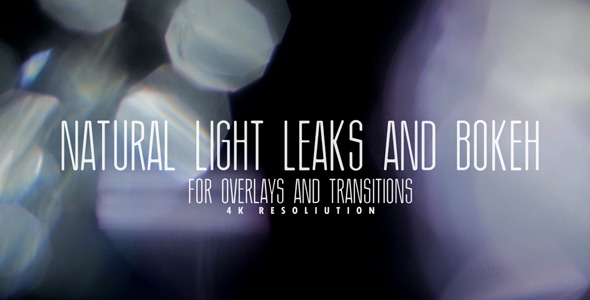 VideoHive Natural Light Leaks And Bokeh For Overlays 9686695