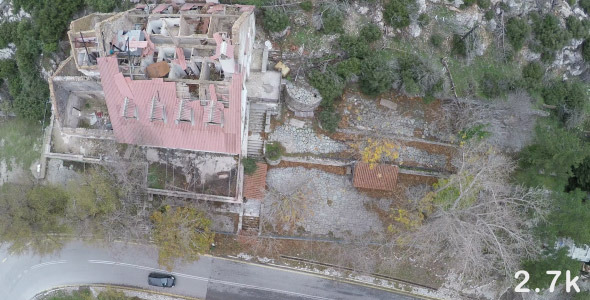 VideoHive Building with Ruined Roof 9687093