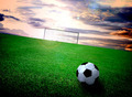 soccer field and sky - PhotoDune Item for Sale