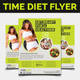 Time Diet Flyer - GraphicRiver Item for Sale
