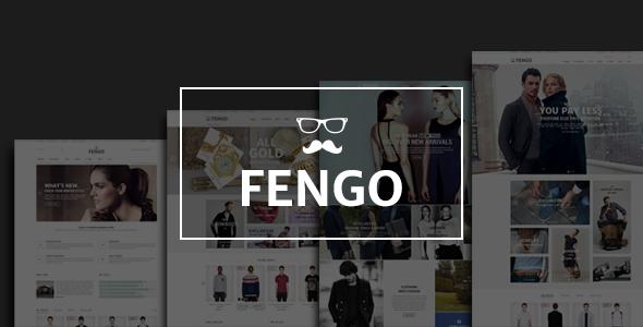 ThemeForest Fengo Premium Responsive Magento Theme 9633061