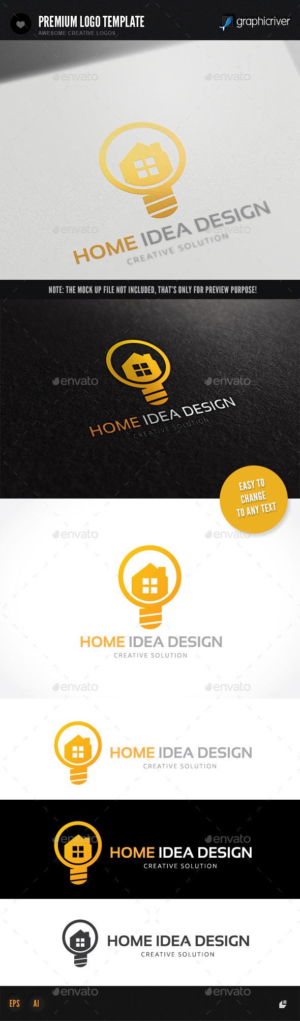 GraphicRiver Home Idea Design 9687842