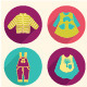 Collection of  Children's Clothing - Illustration - GraphicRiver Item for Sale