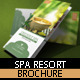 Spa Resort Brochure Template - GraphicRiver Item for Sale