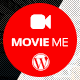 Movie Me - One Page Responsive WordPress Theme - ThemeForest Item for Sale